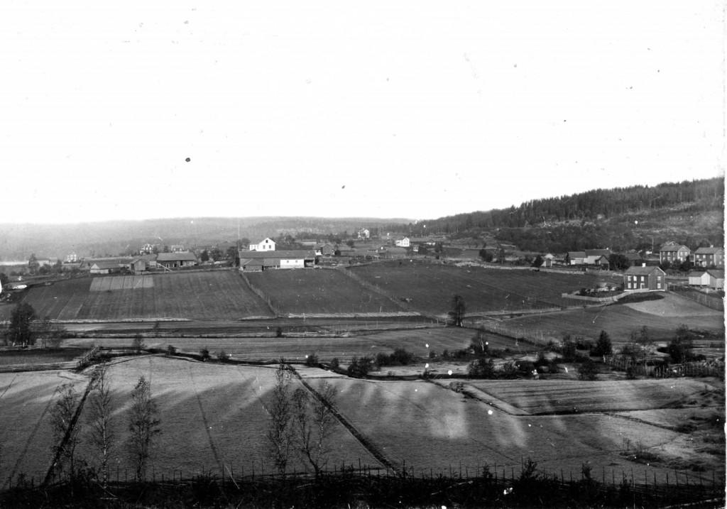 Utsikt från Torphagsbacken